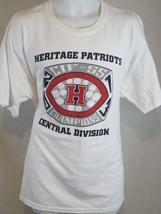 heritage patriots cif champions art white XL Tshirt - $19.79