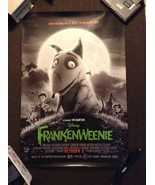 Frankenweenie 2012 double sided one sheet - 27x40 rolled - free shipping - $15.97