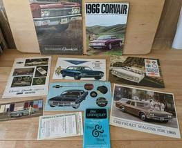 1966 CHEVROLET Sales Brochure Lot Corvette Chevelle Corvair Impala Chevy SS - $56.10