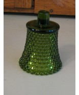 HOMCO Home Interiors Votive Cup Candle Holder 70's Green HOBNAIL - $3.46