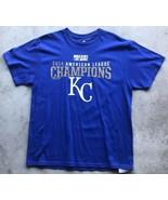 Kansas City Royals Baseball '2014 American League Champs' T-Shirt Large ... - $15.13