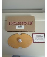 Longaberger 2000 Cheer Basket Wood Crafts LID ONLY  #54437 - NEW IN BOX! - $10.84