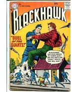 BLACKHAWK #110 1957-Gaint cover!  Cool issue! 10 cent! G - $46.66