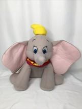 "Disney Parks Dumbo Elephant Plush Stuffed Toy 14"" Circus Collar - $14.50"
