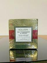 Voluspa Gilt Pomander & Hinoki Candle 2.5oz - Same Day Shipping! - $13.99