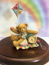 Cherished Teddies Clock Time Flies When You Are Having Fun 2001  NIB - $44.50