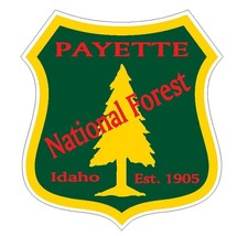 Payette National Forest Sticker R3289 Idaho You Choose Size - $1.45+