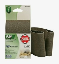 "Shopsmith P80 21"" x 3"" Ceramic SANDING BELT 80 Grit Medium 1 pc. Abrasive 12242 - $10.59"