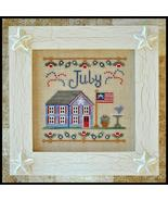 July Cottage of the Month Series cross stitch chart Country Cottage Need... - $5.40