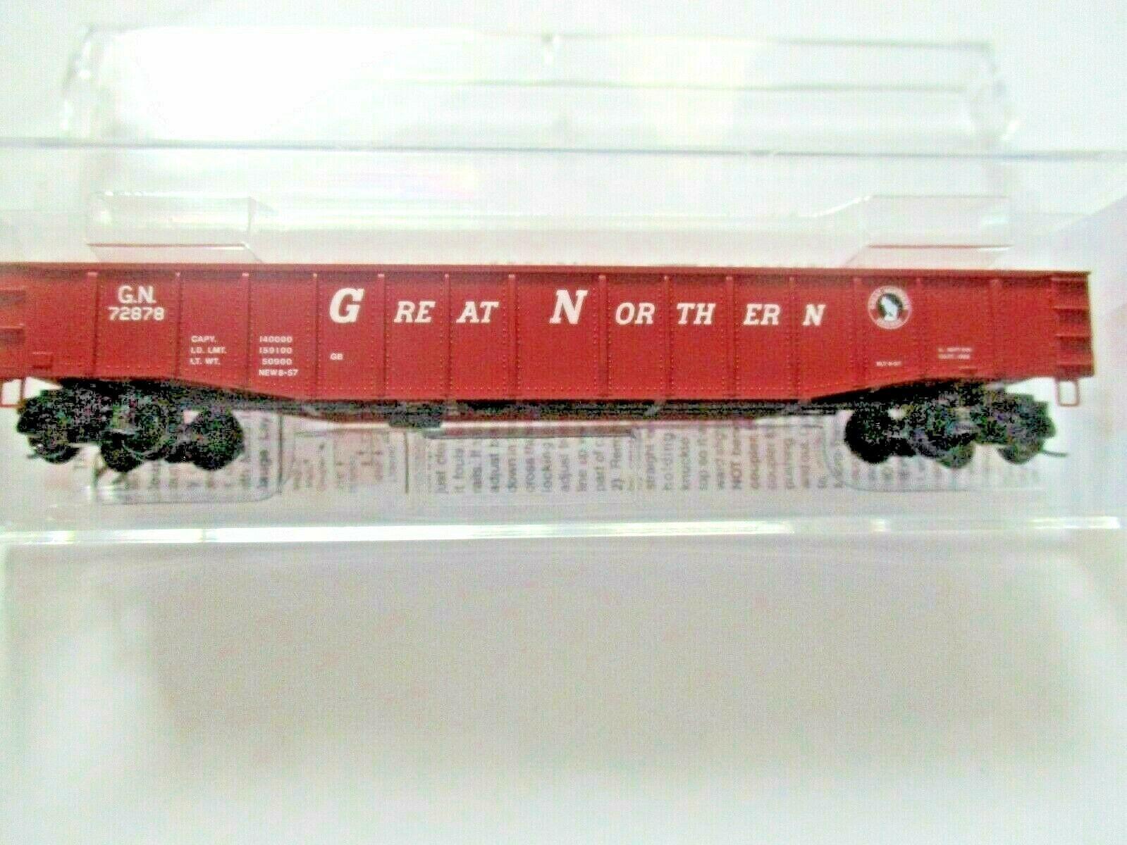 Micro-Trains # 10500541 Great Northern 50' Steel Side Gondola, 15 Panel N-Scale