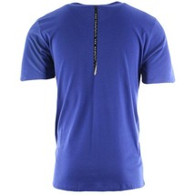Nike Nsw S+ 7 Tee Men Size Medium (M) Blue 867218 455 Breathable New Authentic - $34.64