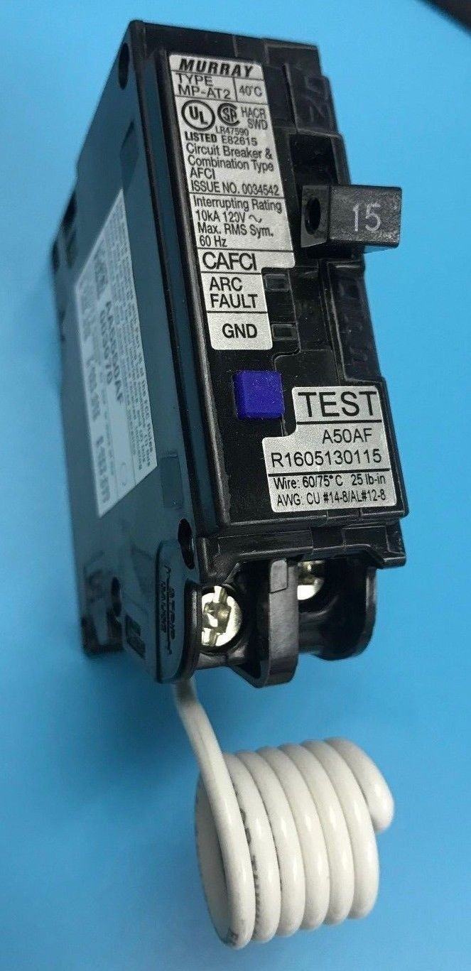 Murray Mp115afc 15 Amp 1 Pole 120 V And 45 Similar Items Arc Fault Circuit Interrupters Afcis 57