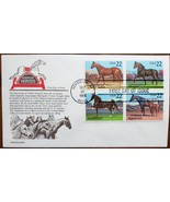 American Horses 1985 First Day of Issue  - $5.95