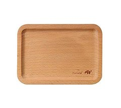 Wooden Environmental Safe Tray/Baby Tableware/Utensils For Baby(Elephant)