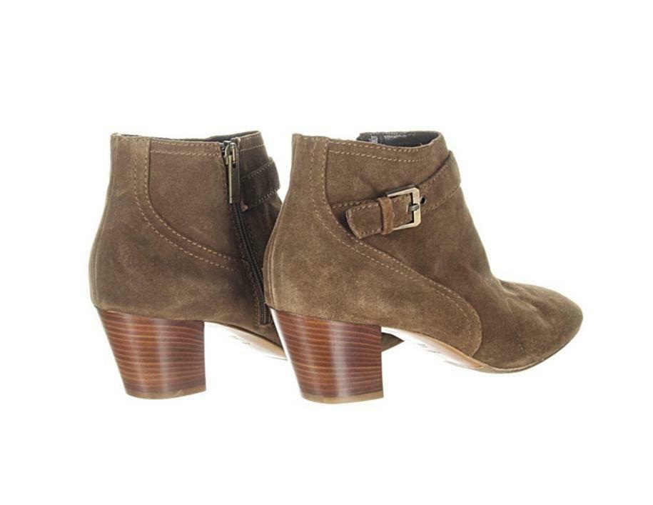 Aquatalia Women's Femme Weatherproof Suede Ankle Boot Womens Booties Brown 11 image 5