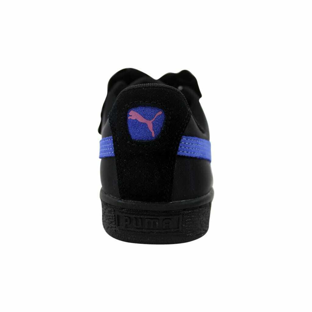 Puma Basket Heart Nylon Puma Black/Baja Blue 364954 02 Women's Size 6