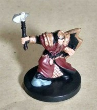 Dungeons & Dragons Miniatures Cleric of Moradin #1 D&D Mini Collectible Wizards! - $4.99