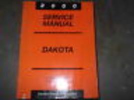 2000 Dodge Mopar Dakota Camión Servicio Reparación Taller Manual Fábrica... - $129.51