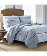 Nautica Destin Light Blue/Navy/Pink Pillow Sham... - $24.00