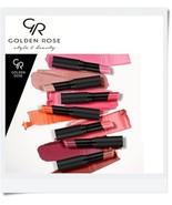 Golden Rose Sheer Shine Stylo Lipstick SPF 25 Argan Oil Vitamin E 32 SHADES - $5.87