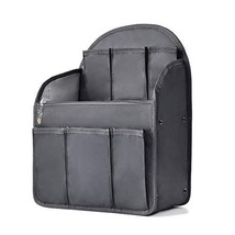 bag in bag Shoulders Bag Rucksack Insert Backpack Organizer fit MCM,Blac... - $17.53