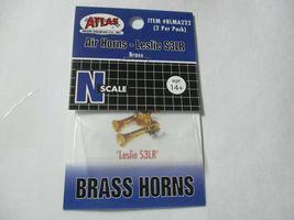 """Atlas # BLMA222 Air Horns Brass """"Leslie S3LR""""  2 per Pack  N-Scale image 5"""
