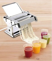 Manual Pasta Cutting Machine Make Roller Dough Fresh Noodle Making Kitch... - $66.47
