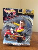 NEW Rare 1999 Hot Wheels Radical Rides Bill Elliott #94 Diecast Collectible - $39.95