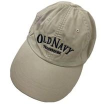Old Navy Trademark Beige Adjustable Adult Ball Cap Hat - $12.86