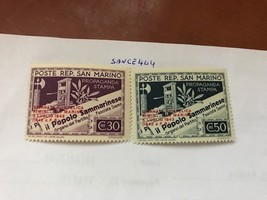 San Marino Stamp Day overp. mnh 1943   stamps - $1.95