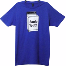 Sonic Youth Washing Machine Blue Band T-Shirt - $15.91