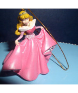 Sleeping Beauty Princess Aurora u Walt in her yellow dress Disney orname... - $19.99