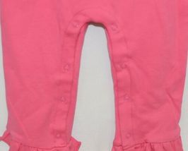 Blanks Boutique Long Sleeve Snap Up Pink Ruffle Romper Size 2T image 3