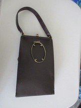 Purse Vintage Bag By Triangle New York Brown colored - $12.99