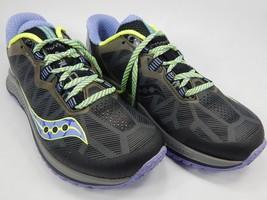 Saucony Koa TR Women's Trail Running Shoes Size US 8 M (B) EU 39 Gray S10390-2