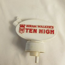 Vintage Hiram Walker's Ten High Whiskey Stopper/Pourer - $2.92