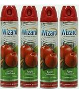 LOT 4 ~ Air Freshener Spray Scent Apple Cinnamon Eliminates Odors 10 oz ... - $21.77