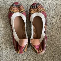 Lucky Brand Tribal Round Toe Slip On Ballet Flats Women 7 - $20.00
