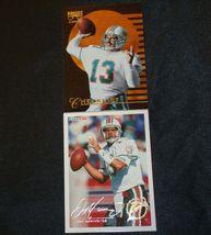 Dan Marino # 13 Miami Dolphins QB Football Trading Cards AA-19FTC3003 Vintage Co image 3