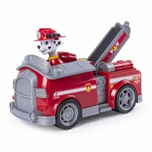 Paw Patrol Marshall's Fire Truck with Pop-out Water Cannons and  Marshal... - $18.64
