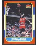 MICHAEL JORDAN Rookie Card RP #57 Bulls RC 1986 F Free Shipping - $3.00