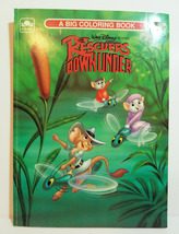 RESCUERS DOWN UNDER Vtg 1990 Coloring Book DISNEY MISS BIANCA Movie Mice... - $11.99