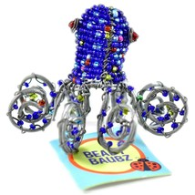 Beady Baubz Handmade Beaded Octopus Sculpture Figurine Made Zimbabwe Africa image 1