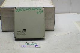 2003 Infiniti G35 A56-U80 L52 Engine Control ECU ECM 23710AM601 Module 394 14C3 - $22.76