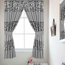 Popular Bath Sinatra Silver Window Curtain - $36.27
