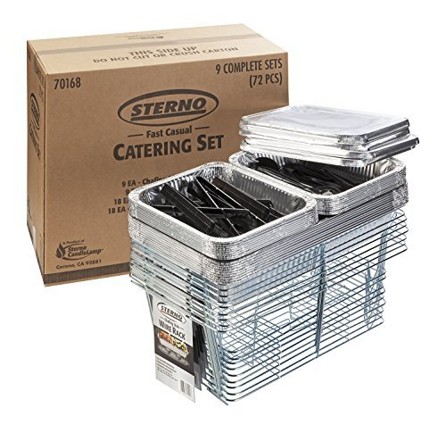 Sterno 70168 Fast Casual Catering Set Pack of 72