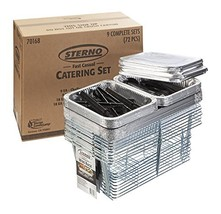 Sterno 70168 Fast Casual Catering Set Pack of 72 image 1