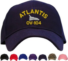 Space Shuttle Atlantis OV-104 Embroidered Baseball Cap - Available in 7 ... - $24.95