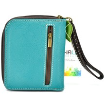 Chala Handbags Faux Leather Whimsical Dragonfly Zip Around Wristlet Wallet image 2