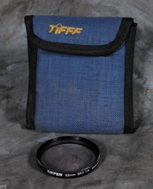 52mm Tiffen Sky 1A Filter with Tiffen 3 Filter Blue Case - $4.00